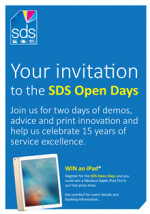 Bigger and better SDS Open Days November 2017