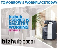 bizhub i-SERIES IS SMARTER WORKING