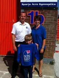 SDS Sponsor local Gymnastics Club