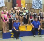 SDS Sponsored Gymnasts Triumph in Germany