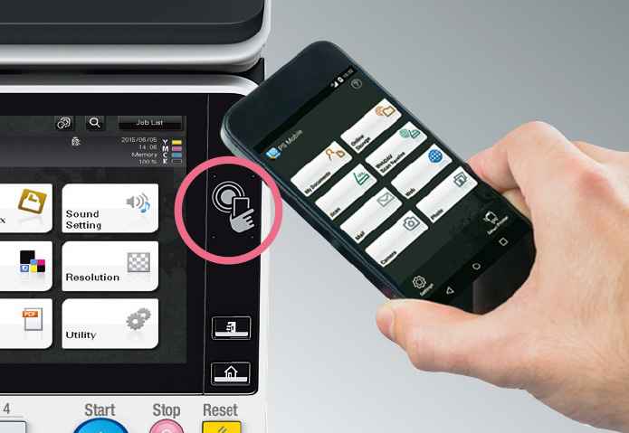 NFC Touch Panel